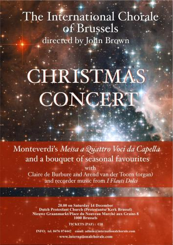A Christmas Concert of Monteverdi and a bouquet of Seasonal Favourites