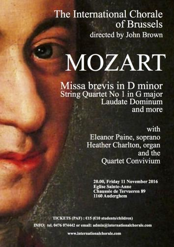 Mozart: Missa Brevis in D minor