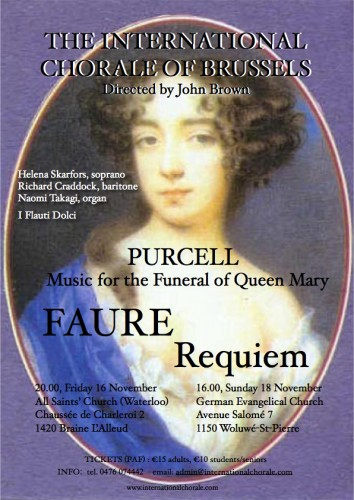Purcell - Faure Requiem