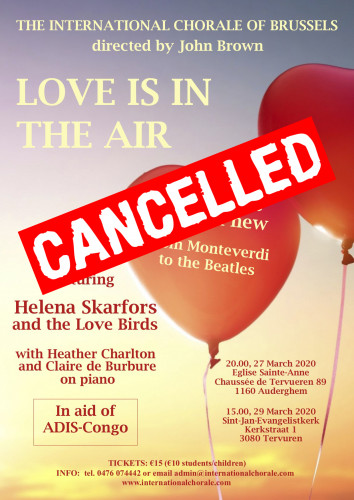 Love is in the air - CANCELLED